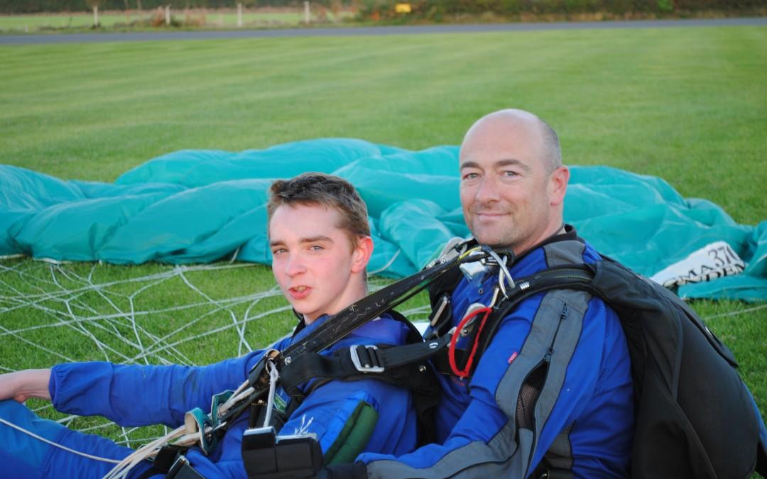 Sponsored Parachute Jump
